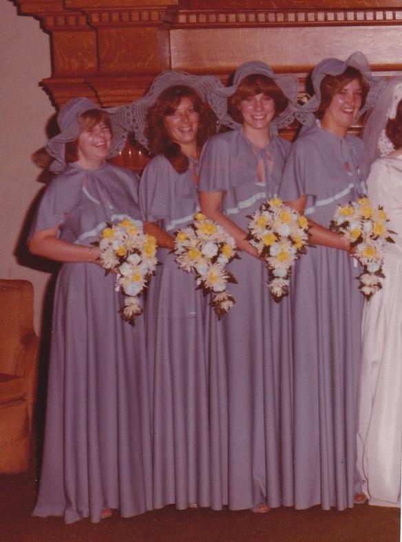 Ahhh, bridesmaids.....